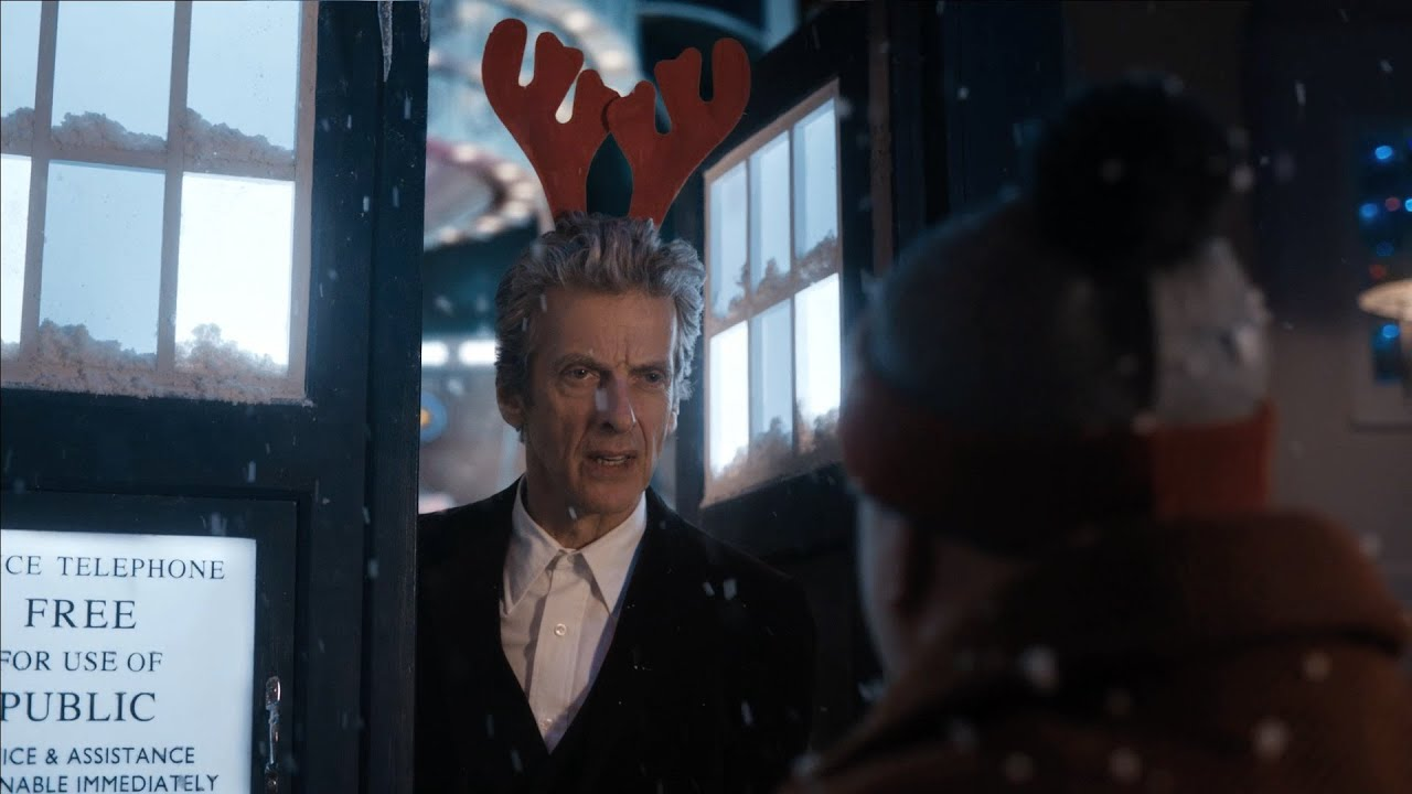 Doctor Who Christmas Special 2015.Video Introduction To The Husbands Of River Song Doctor