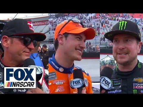 Kurt Busch, Clint Bowyer & Joey Logano comment on their days in Bristol | NASCAR on FOX