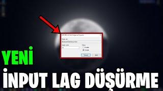 FORTNITE NEW INPUT LAG REDUCTION METHOD !! (Fortnite Turkish)