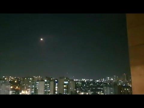 Los Palestinos Responden Con Misiles A Una Operación De Israel