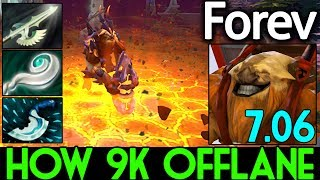 How to 9k Offlane Max Disable Earthshaker by Forev 7.06 Dota 2 Subs...