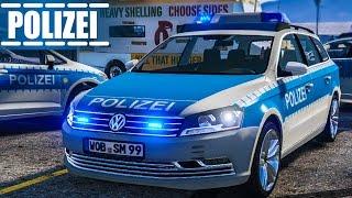 POLIZEIAUTO gestohlen - Verfolgung mit VW Passat | Achtung: POLIZEI #5 GTA V LSPDFR deutsch