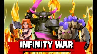 INFINITY WAR GOVAPE NEW TH10 STRONG WAR ATTACK STRATEGY Guide 2018 | Clash of Clans