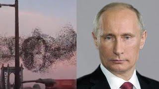 Американцы разглядели портрет Путина в небе над Нью-Йорком