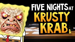 Five Nights at the Krusty Krab Сможешь Выжить 1