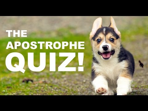 Apostrophe Quiz: How Many Can You Get Right?