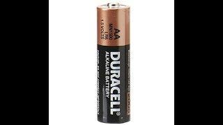 Як перевірити мультиметром алкалінові батарейки формату АА і ААА .