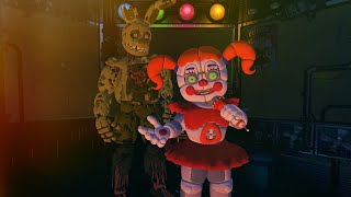 SPRINGTRAP visita Circus Baby's Pizza World - Afton's Revenge (FNAF Game)