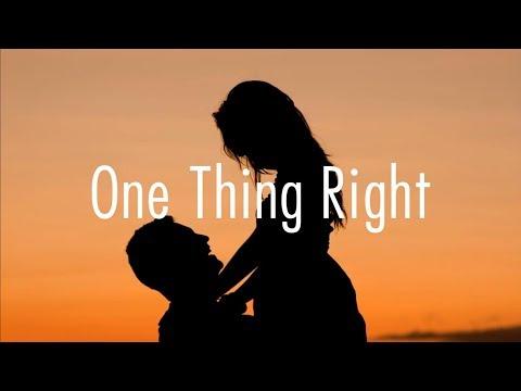 Marshmello - One Thing Right Ft. Kane Brown // Lyrics