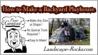 How To Make A Backyard Playhouse