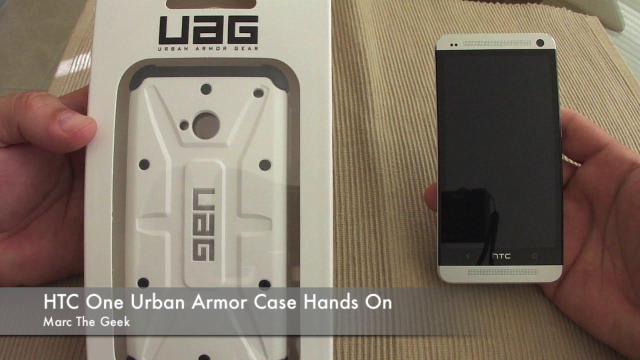 quality design d02a9 70bc3 HTC One Urban Armor Gear Case (UAG)