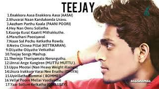 TeeJay Album Songs | Jukebox | Tamil Album Songs | TeeJay New Song I TeeJay All Song I eascinemas