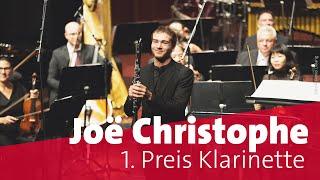 Joë Christophe, Frankreich | Finale Klarinette | ARD-Musikwettbewerb 2019