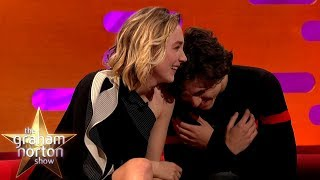 Download Timothée Chalamet Can't Handle Saoirse Ronan's Shrek Impression | The Graham Norton Show Mp3 and Videos