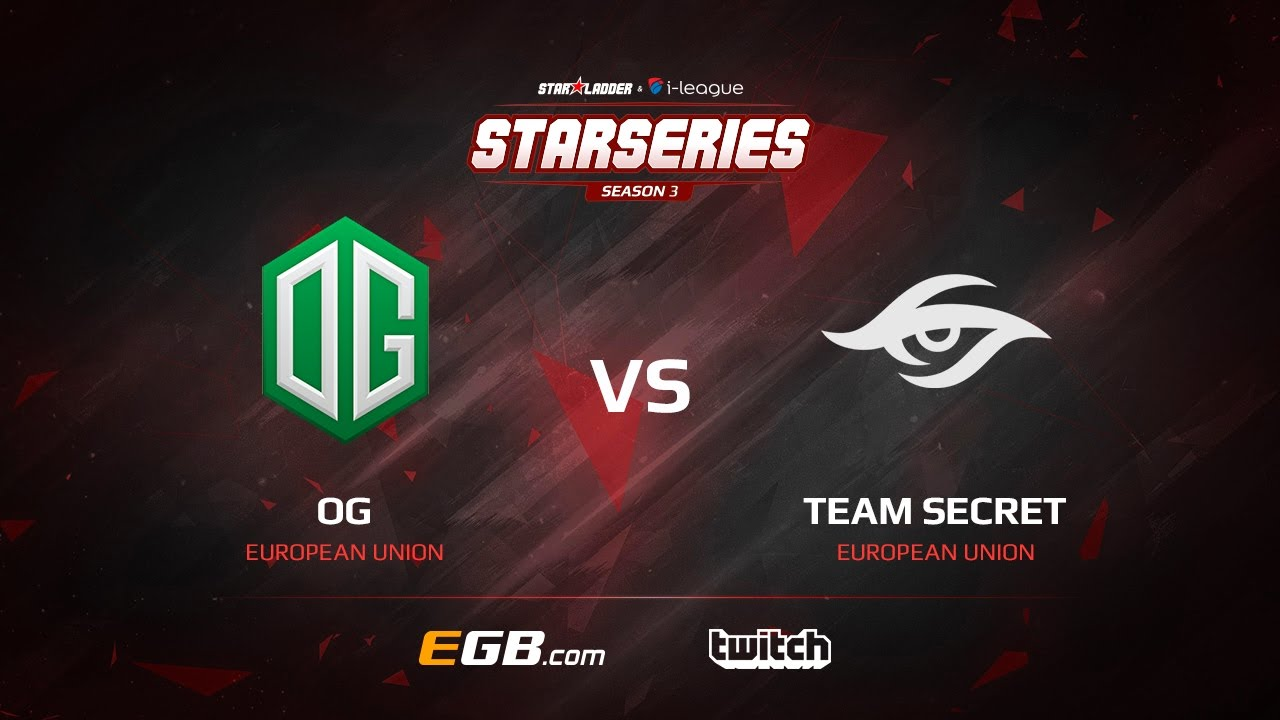 OG vs Team Secret, Game 1, SL i-League StarSeries Season 3, LAN-Final