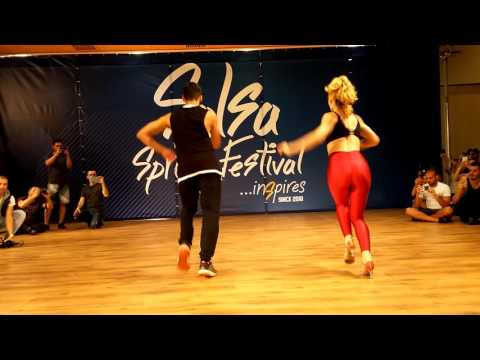 Sping salsa festival 2016 Shines on 1 workshop Tropical Jam