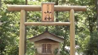 【奈良県川上村 三之公川】明神出合→明神滝(一)【H24/8/31】