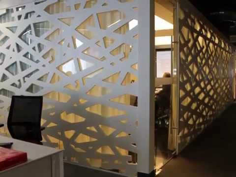 Celosias arquitect nicas duralmond oficinas intercam youtube - Celosias de madera ...
