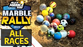 Sand Marble Rally 2019 ALL RACES - Jelle's Marble Runs