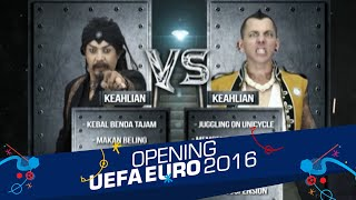 Pemasangan Hook Limbad vs. Space Cowboy [Opening Celebration UEFA EURO 2016] [10 Jun 2016]