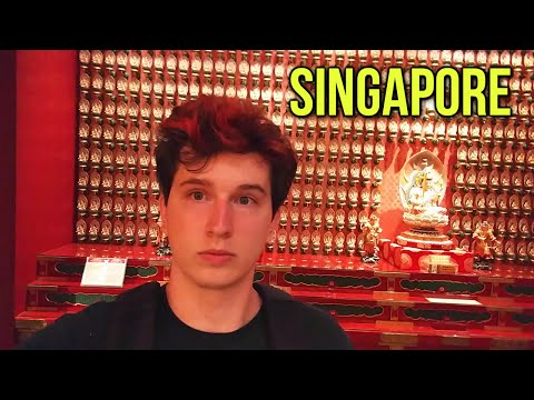 Singapore: Marina Bay Sands, Buddhist Temple, & Hindu Temple