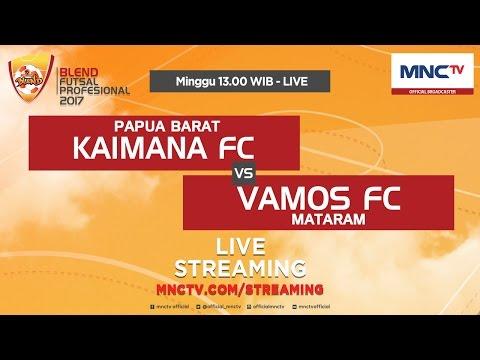 Kaimana FC VS Vamos FC (FT : 4 - 6) - Blend Futsal Profesional 2017