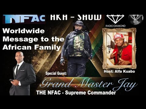 The Grand Master Jay World Address Africa, UK, Caribbean, South America-- Black Diamond Radio/TV