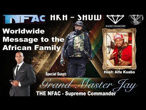 The Grand Master Jay World Address Africa, UK, Caribbean, South America-- Black Diamond Radio/TV