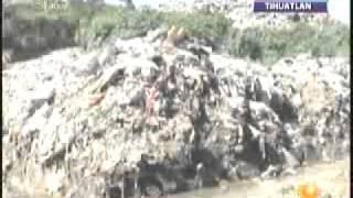 Saturado el basurero municipal de Tihuatlan
