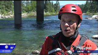 Crews train for water rescues on Spokane river