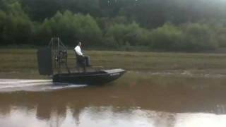 Green Mini Airboat.mov