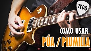 Aprender Como Tocar Guitarra Eléctrica Desde Cero: Como Usar La Púa #2 TCDG