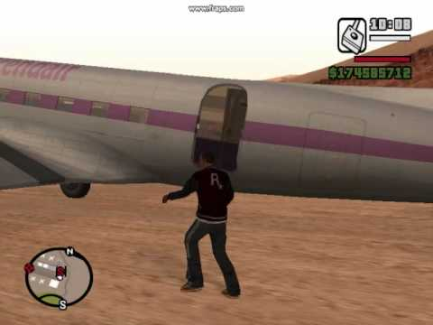Old planes in GTA San Andreas (part 2)