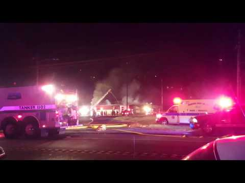 Working Bowling Alley Fire New Jersey