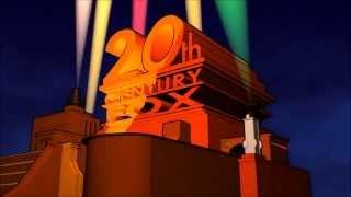 20th Century Fox Logo (1953, Colour, CinemaScope Production)