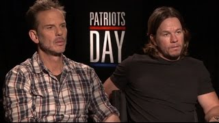 PATRIOTS DAY: Backstage With Mark Wahlberg & Peter Berg