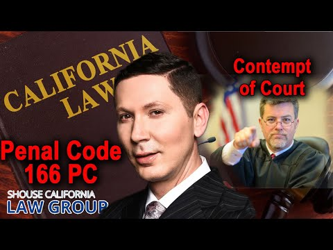 Contempt of Court: A Former D.A. Explains