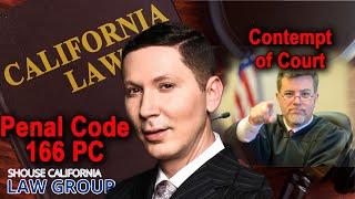 Contempt of Court: A Former D.A. Explains