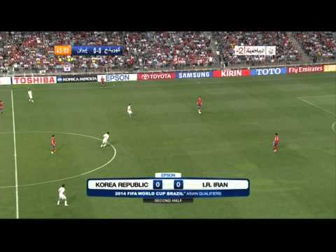 South Korea vs Iran full match FIFAWorld Cup Qualification 2014 Brazil 18/06/2013