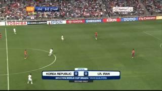 South Korea vs Iran full match FIFAWorld Cup Qualification 2014 Brazil 18/06/2013
