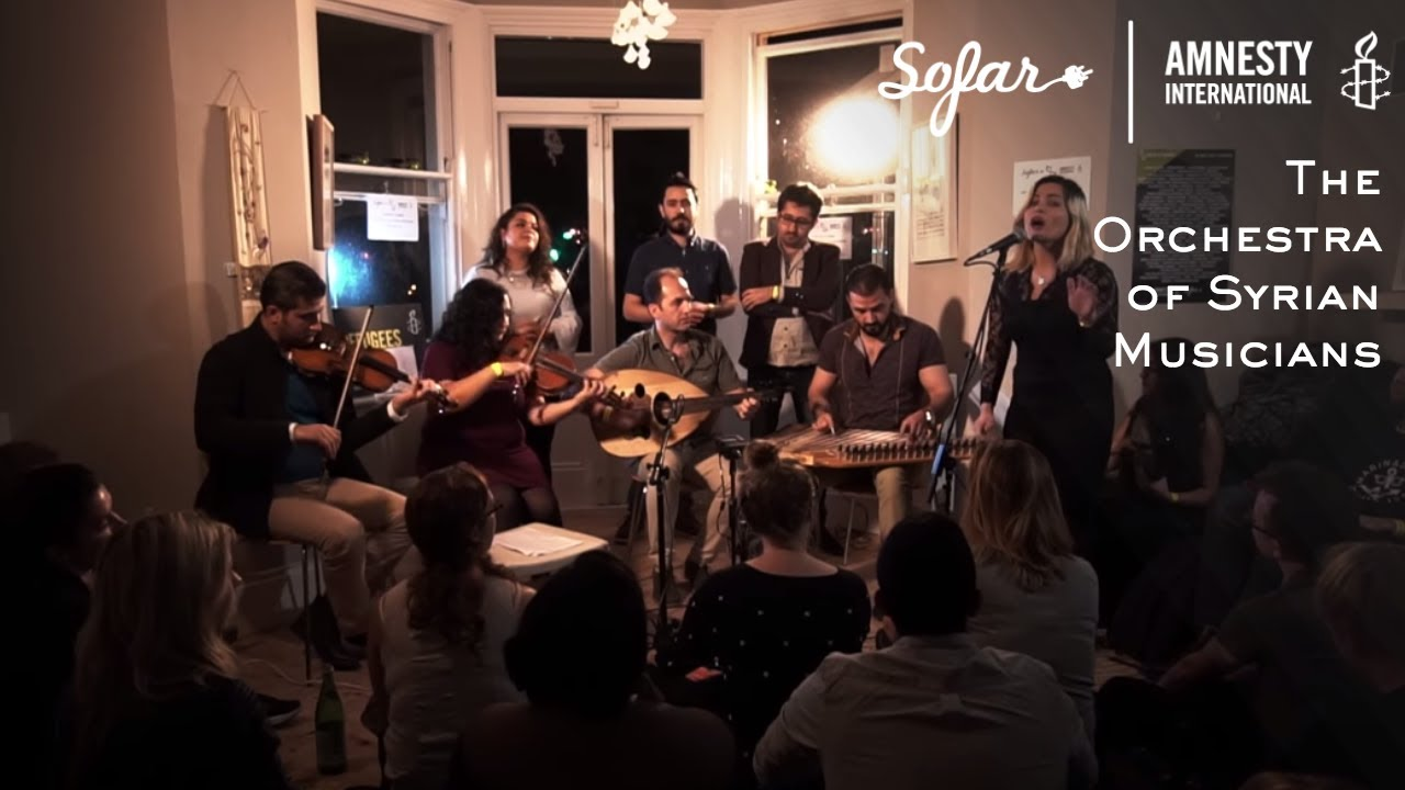Download The Orchestra of Syrian Musicians - Nassam Alayna Al Hawa | Sofar London - GIVE A HOME 2017