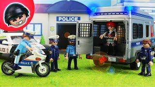Riesen Ausbruch beim Gefangenentransport - Playmobil Polizei Film - KARLCHEN KNACK #158