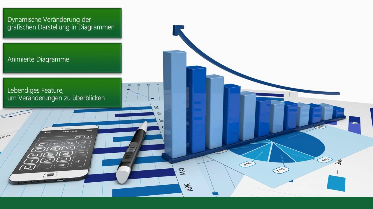 Excel 2013: Dynamische Diagramme - YouTube