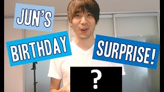 Jun's Birthday Surprise!!