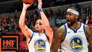 Golden State Warriors vs LA Clippers Full Game Highlights | 01/18/2019 NBA Season
