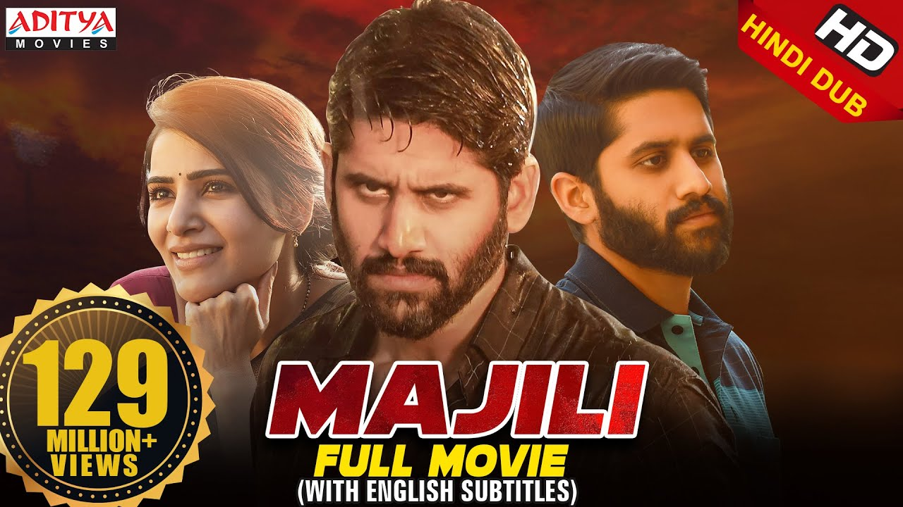 Majili Hindi Dubbed Full Movie (2020) | New Released Hindi Movie | NagaChaitanya, Samantha