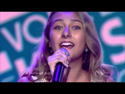 Luna Maria canta 'Coleção' no The Voice Kids - Audições|1ª Temporada