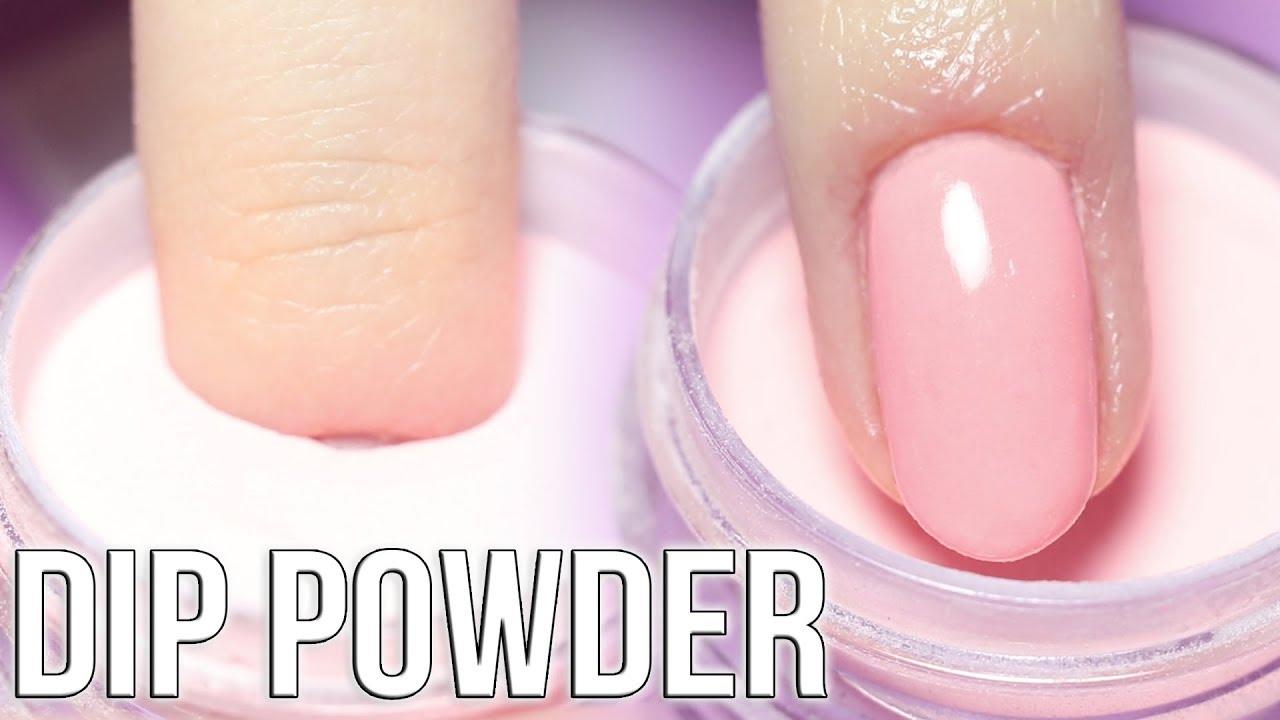 Diy Dip Powder Nails Youtube