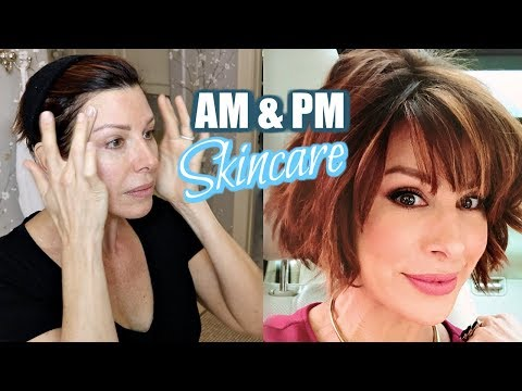 Updated Morning & Evening Anti-Aging Skincare Routine
