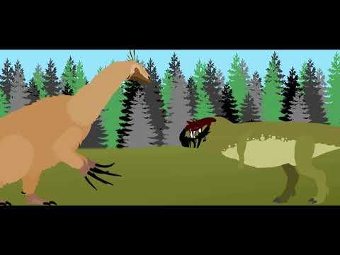 Quick Fight Therizinosaurus Vs Carnotaurus